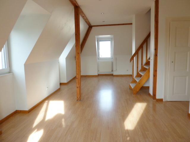 Charmant duplex 3 pièces dernier étage début Robertsau